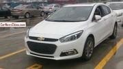 Voici la future Chevrolet Cruze