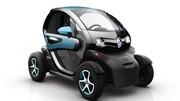 La Renault Twizy cligne de l'œil à l'endroit des petits rouleurs