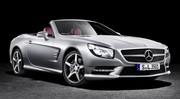Mercedes : le roadster SL400 reçoit un V6 biturbo