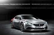 Peugeot Exalt : Le concept de coupé 4 portes