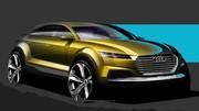 Audi Q4 Concept : premier teaser avant Pékin