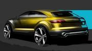 Audi croque son prochain crossover à travers un concept