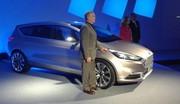 Ford S-Max Vignale Concept : les photos en direct de sa présentation en première mondiale