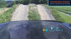 Concept Land Rover Discovery Vision : Et Land Rover effaça le capot avant