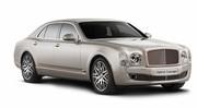 Bentley dévoile un prototype de Mulsanne hybride rechargeable