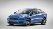 Ford dévoile la Focus berline restylée aux Etats-Unis