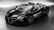 Bugatti Veyron 16.4 Légendes Black Bess 2014 : même de l'or 24 carats !