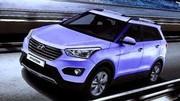 Hyundai ix25, premières images