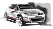 Des esquisses d'un petit SUV Citroën encore mystérieux