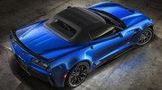 New York 2014 : La Corvette Z06 cabriolet y sera