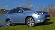Essai Mitsubishi Outlander PHEV Electrique 4x4 2014 en Hollande