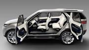 Land Rover Discovery Vision Concept : Vaisseau du futur !