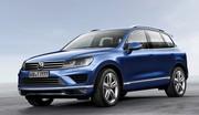 Volkswagen Touareg retouchée