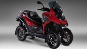 Quadro Four : le premier scooter à 4 roues