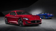Maserati Gran Turismo et Gran Cabrio MC Centennial Edition