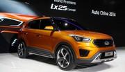 Pékin 2014 : Hyundai débarque sur le segment des SUV urbains avec ix25 concept