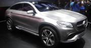 Mercedes Concept Coupé SUV: convoi exceptionnel