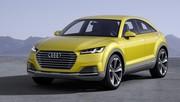 Audi TT offroad concept : technologie baroudeuse