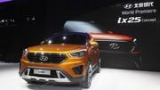 Hyundai ix25 Concept : un petit SUV pour la Chine
