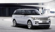 Le Range Rover hybride en version longue