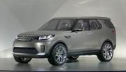 Land Rover Discovery Vision : des technos pas si futuristes