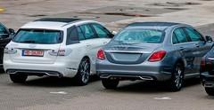 Mercedes Classe C Break : Sortie groupée