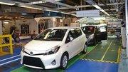 L'usine Toyota de Valenciennes a produit 2.5 millions de Yaris