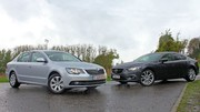 Essai Mazda 6 2.2D vs Skoda Superb TDI 140 : Maxi-menu