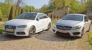 Essai Audi S3 berline vs Mercedes CLA 45 AMG : L'art ou la manière