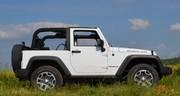 Essai Jeep Wrangler 2.8 L BVA Rubicon châssis court