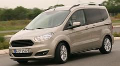 Essai Ford adresse un Courier au Citroën Nemo