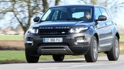 Essai Range Rover Evoque TD4 BVA9 : Pour une conduite plus fluide