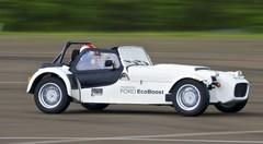 Essai Caterham Ecoboost : Strip-Tease automobile !
