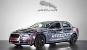 Jaguar XE (2015) : nouvelle photo en toute transparence