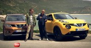Emission Turbo : Nissan Qashqai, C5 Crosstourer, Exige S Roadster, X-Trail