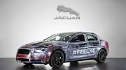 Jaguar XE : première photo dévoilée sur Twitter