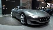 Maserati Alfieri, premier démarrage