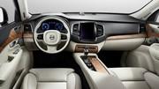 Nouveau Volvo XC90 2014 : les premières photos de l'habitacle