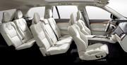 Habitacle Volvo XC90 : Sensations tactiles