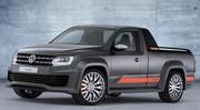 Le Volkswagen Amarok Power concept en avance