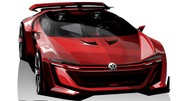 "La Volkswagen Golf GTI Roadster Vision GT en ""vrai"" au Wörthersee 2014"