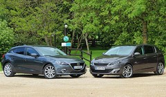 Essai Mazda3 vs Peugeot 308 : La reine et sa prétendante