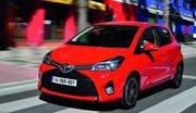 La Toyota Yaris 2014 restylée sous tous les angles