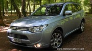 Mitsubishi Outlander PHEV hybride rechargeable - Essai détaillé