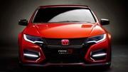 Honda : un nouveau teaser avec la Civic Type R... Concept