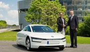 La Volkswagen XL1 arrive enfin chez les clients