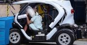 Le Renault Twizy épinglé par Euro NCAP
