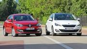 Essai Renault Megane dCi vs Peugeot 308 e-THP : A dos de chameaux