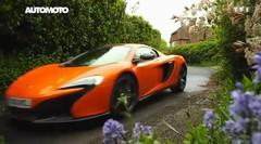 Emission Automoto : McLaren P1; Villa d'Este; M4; Mini vs A1