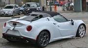 Alfa Romeo 4C Spider : Athlète surprise à l'entrainement